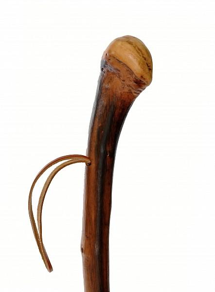 Vycházková hůl dřevěná přírodní Rustikal