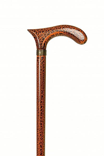 Vycházková hůl Orange Crochet