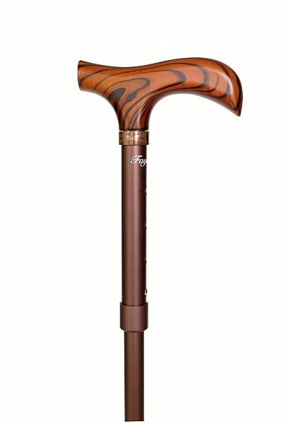 Vycházková hůl Fayet bronze