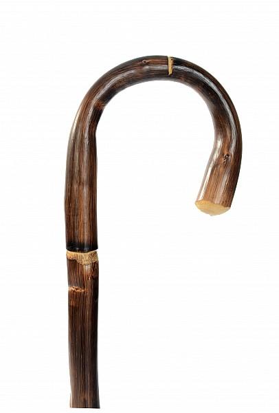 Vycházková hůl dřevěná dámská bambus