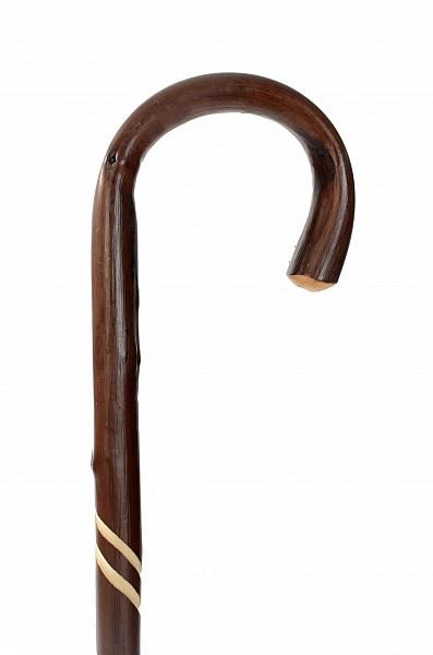 Vycházková hůl dřevěná dámská Twist 2