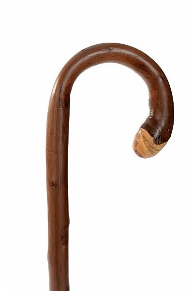 Vycházková hůl dřevěná Wurzel braun