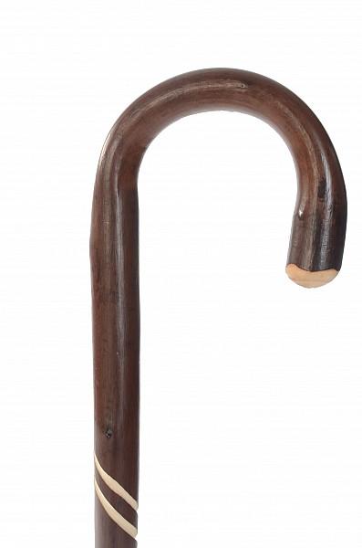 Vycházková hůl dřevěná pánská Twist 2