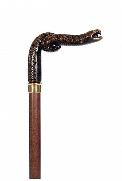 Vycházková hůl sběratelská Snake