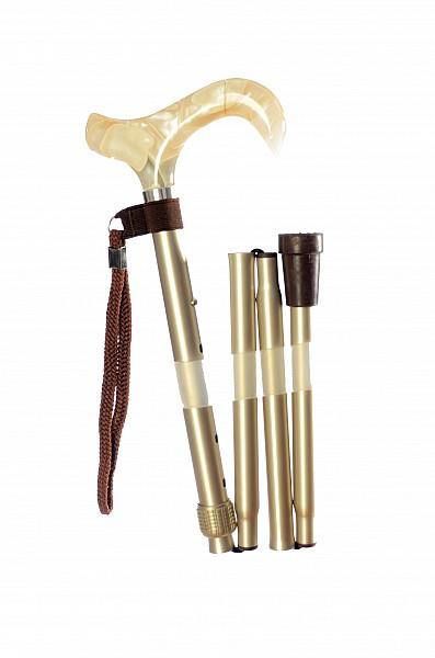 Vycházková hůl skládací Cremant