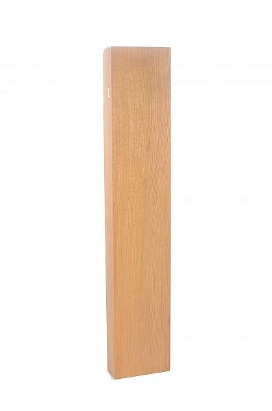 Dřevěné pouzdro na vycházkovou hůl světlé