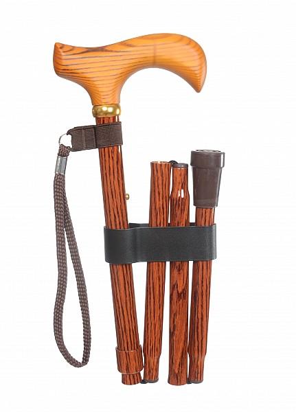 Vycházková hůl skládací Woody