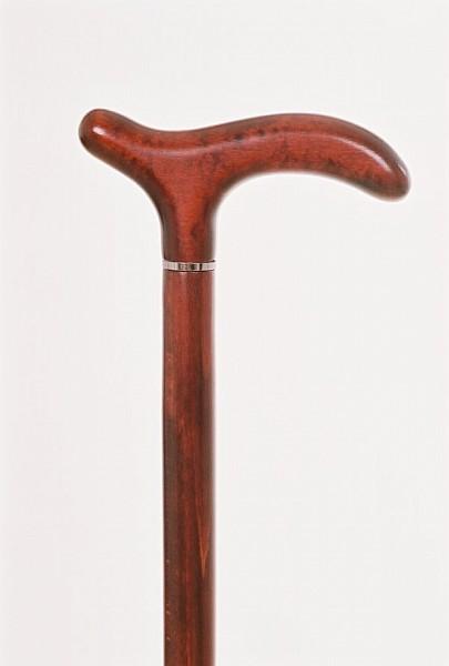 Vycházková hůl Fayet teinté merisier