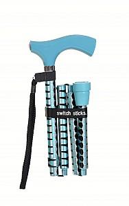 Vycházková hůl skládací Switch Stick Blue Pepa