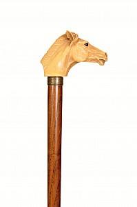Vycházková hůl sběratelská Horse 2 (slva-vada)