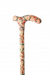 Vycházková hůl Fayet teleskopická fleurs