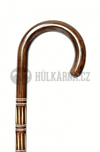 Vycházková hůl dřevěná Teppe