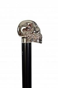 Vycházková hůl Fayet Lebka stříbrná