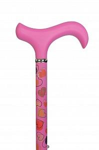 Vycházková hůl teleskopická Gastrock Pink Lady