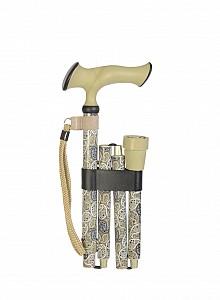 Vycházková hůl skládací ergonomická Paisley