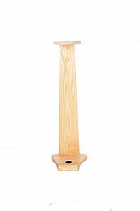 Dřevěný stojan na vycházkovou hůl jasan