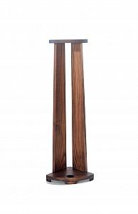 Dřevěný rohový stojan na vycházkovou hůl dub tmavý