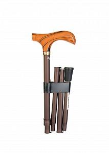 Vycházková hůl skládací Fayet Bronze