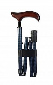 Vycházková hůl skládací luxusní Neck Karo