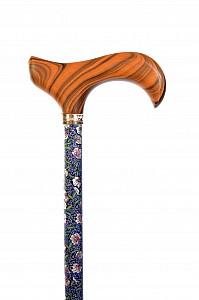 Vycházková hůl teleskopická Fayet Floral