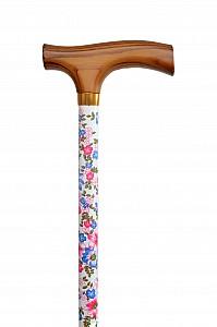 Vycházková hůl s nastavitelnou délkou Floral