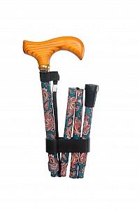 Vycházková hůl skládací Paisley
